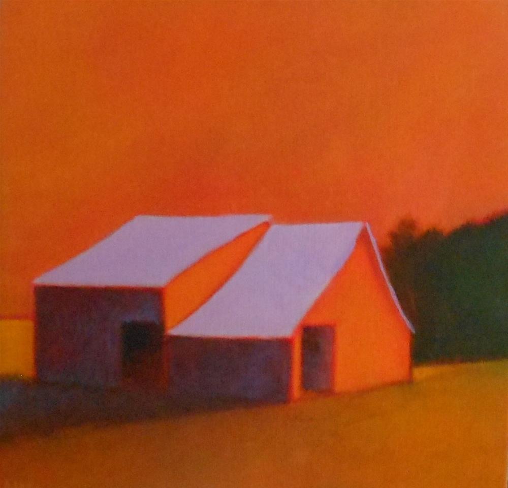 """""""Deep Shadows"""" original fine art by Almira Hill Grammer"""
