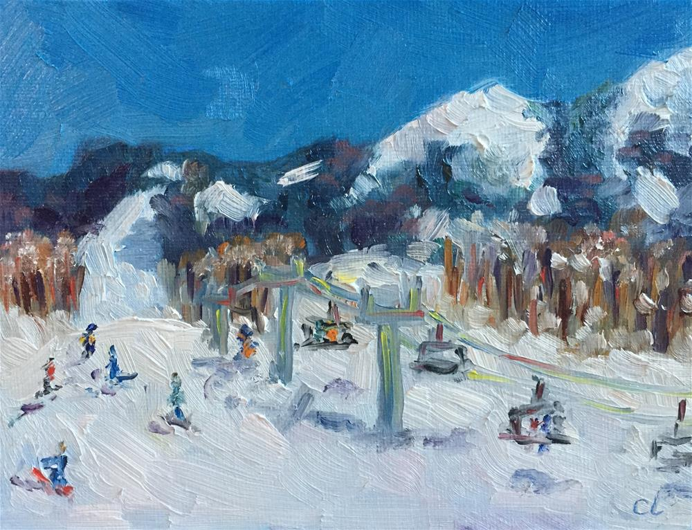 """Crested Butte Spring Break"" original fine art by Cheree Apalona Lueck"