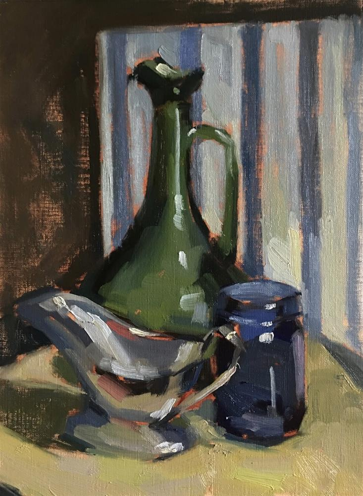 """""""30 days of painting Day 2"""" original fine art by Katia Kyte"""