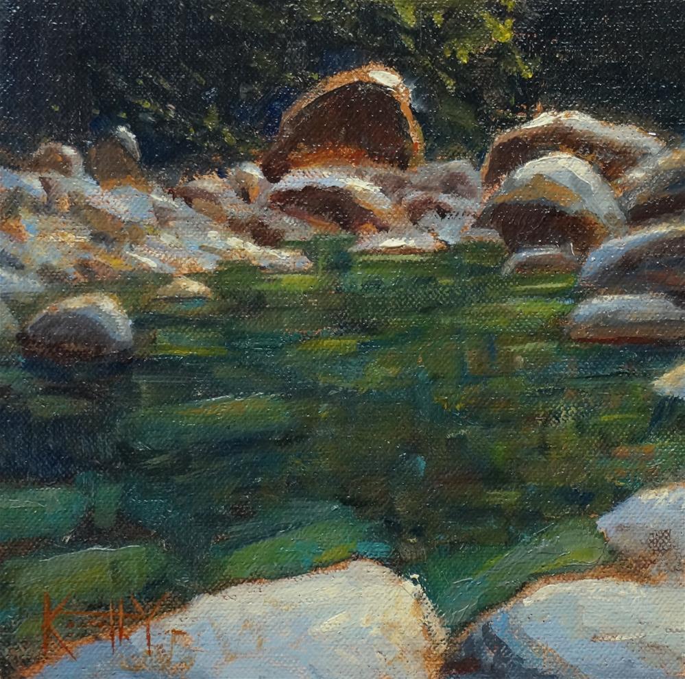 """Inviting Waters"" original fine art by Kenneth Yarus"