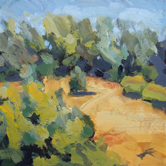 """""""Hill Rise II"""" original fine art by J. Farnsworth"""