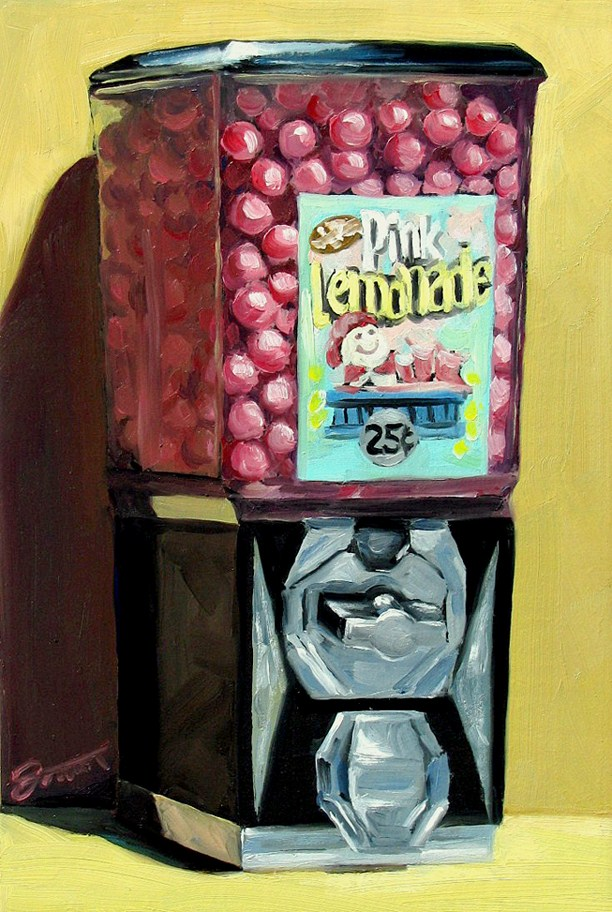 """My Treat"" original fine art by Joanna Bingham"
