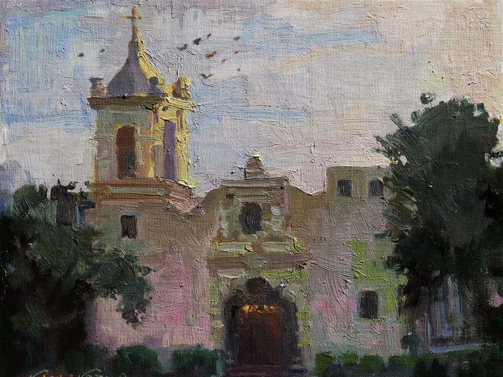 """St. Francis"" original fine art by V.... Vaughan"