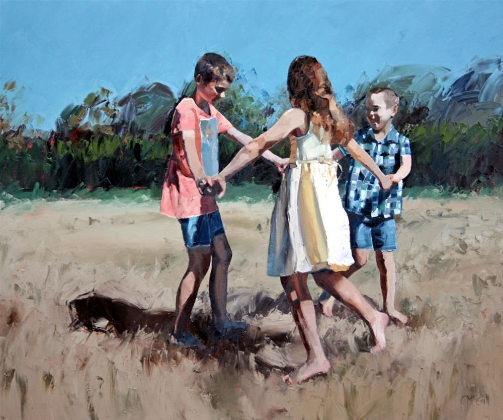 """""""Age of Innocence"""" original fine art by Claire McCall"""