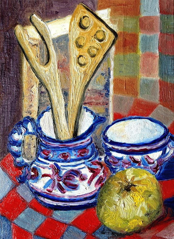 """""""Kitchen objects"""" original fine art by Monica Pinotti"""