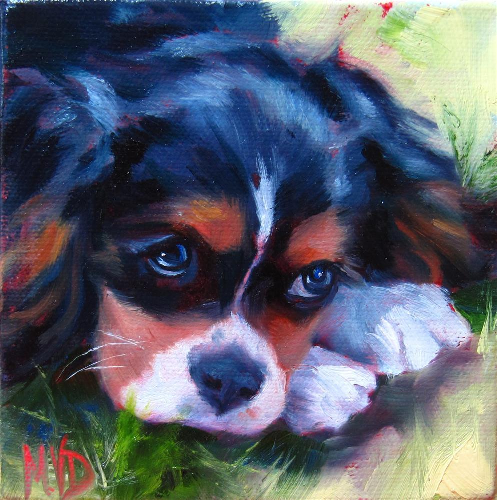 """""""Sweetie Pie"""" original fine art by Mary Van Deman"""
