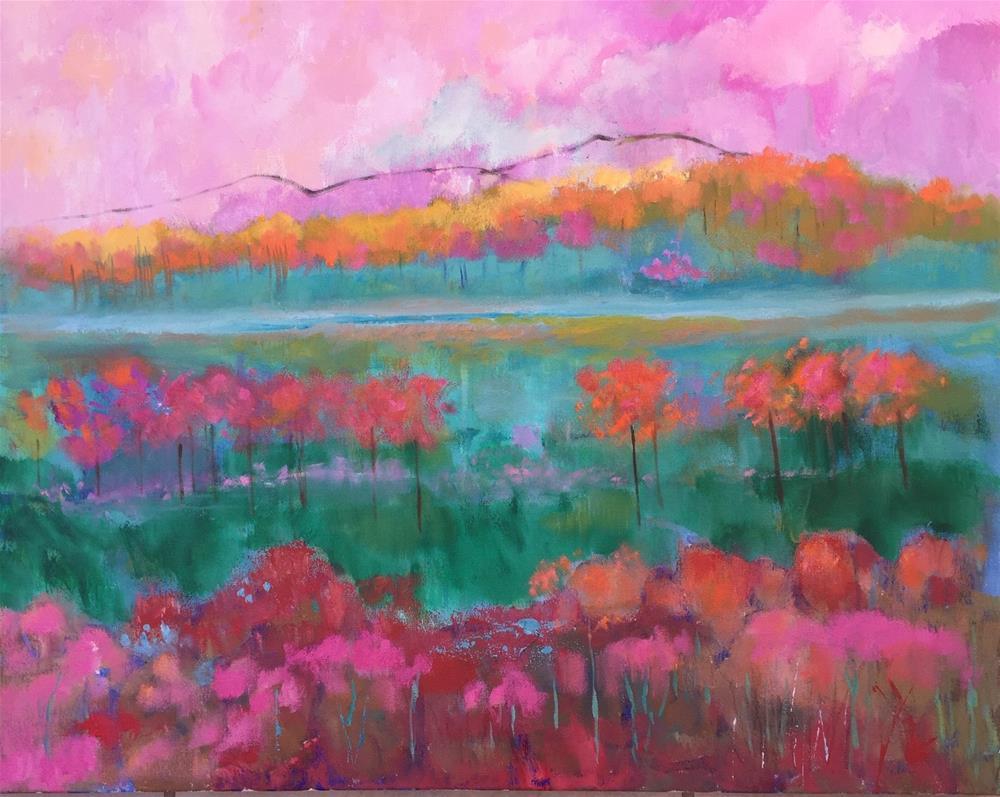 """Dreamland"" original fine art by Amy Whitehouse"