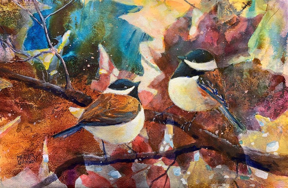 """New Year, New Relationship"" original fine art by Melissa Gannon"