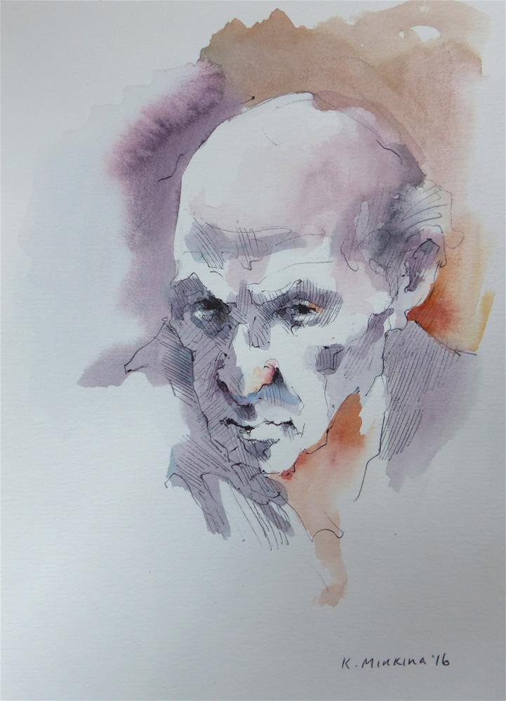 """sketchbook#40"" original fine art by Katya Minkina"