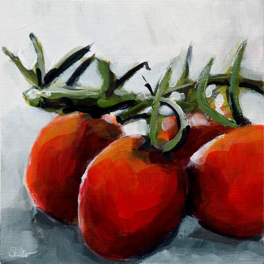 """""""2021 Tomato Troup"""" original fine art by Dietmar Stiller"""