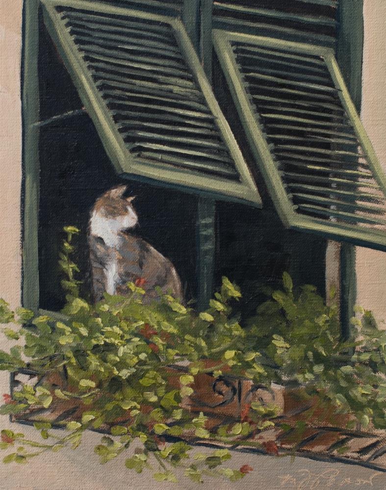 """Nice View"" original fine art by Marian Parsons"