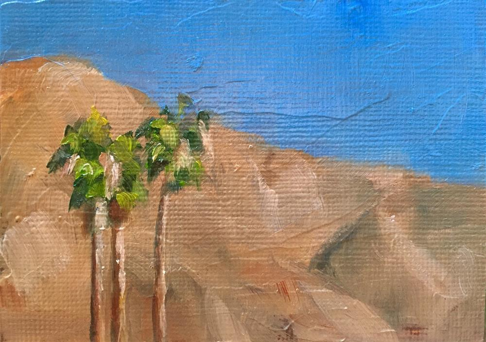 """""""Hot and Dry"""" original fine art by Gary Bruton"""