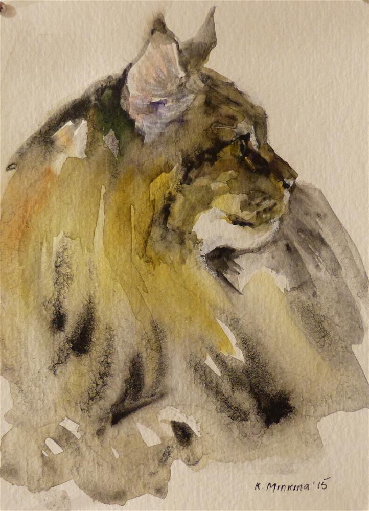 """adopt70"" original fine art by Katya Minkina"