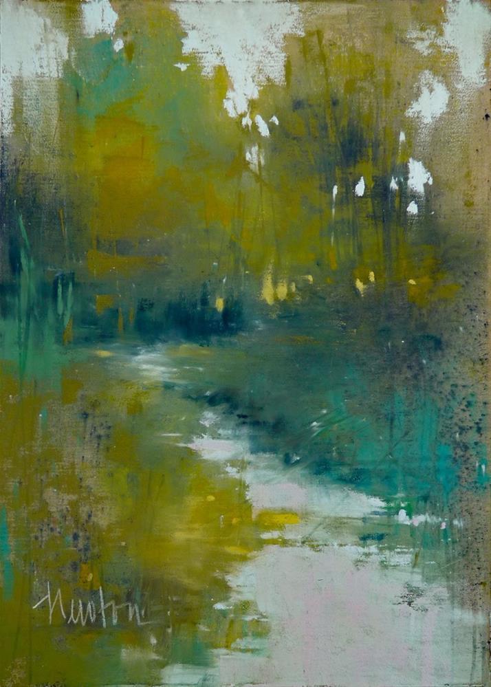 """Summertime"" original fine art by Barbara Benedetti Newton"