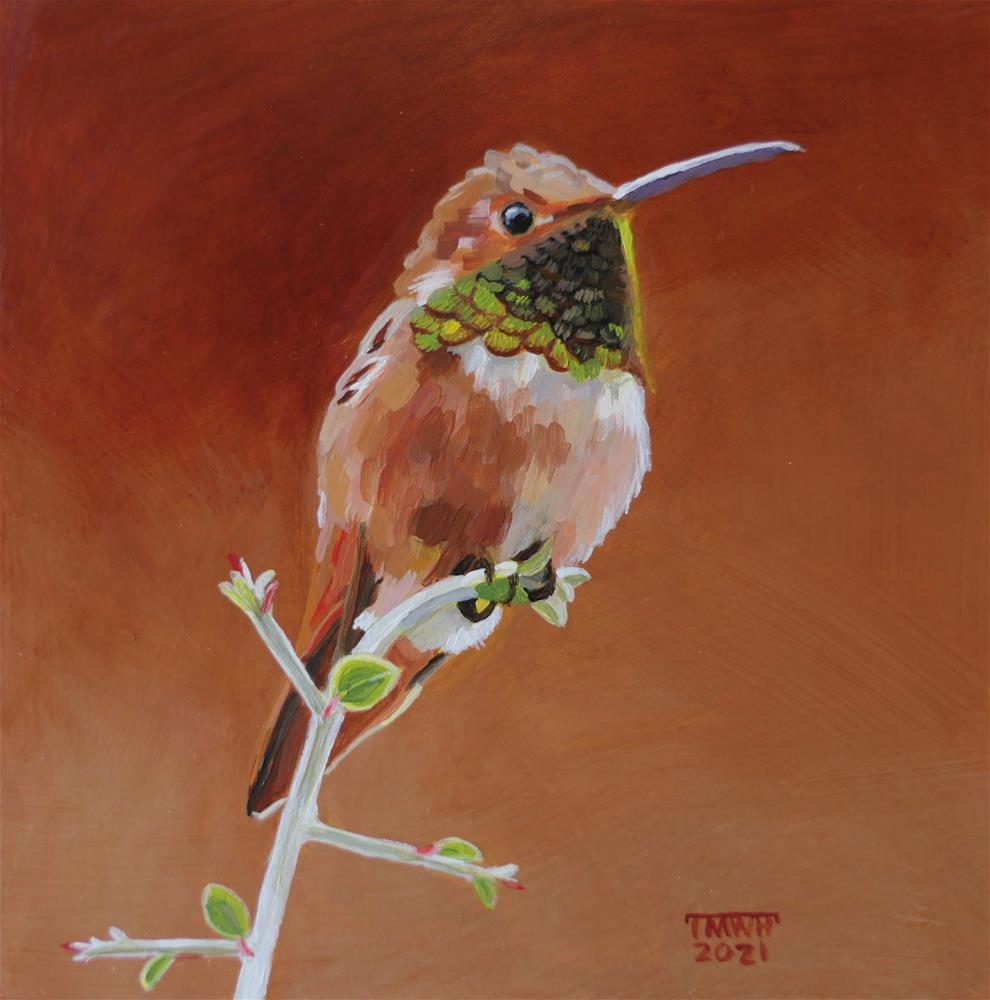 """""""A Jewel of Nature"""" original fine art by Tracy Hurley"""