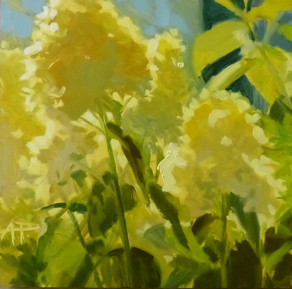 """""""30 in 30 - There's Still Light"""" original fine art by Anette Power"""