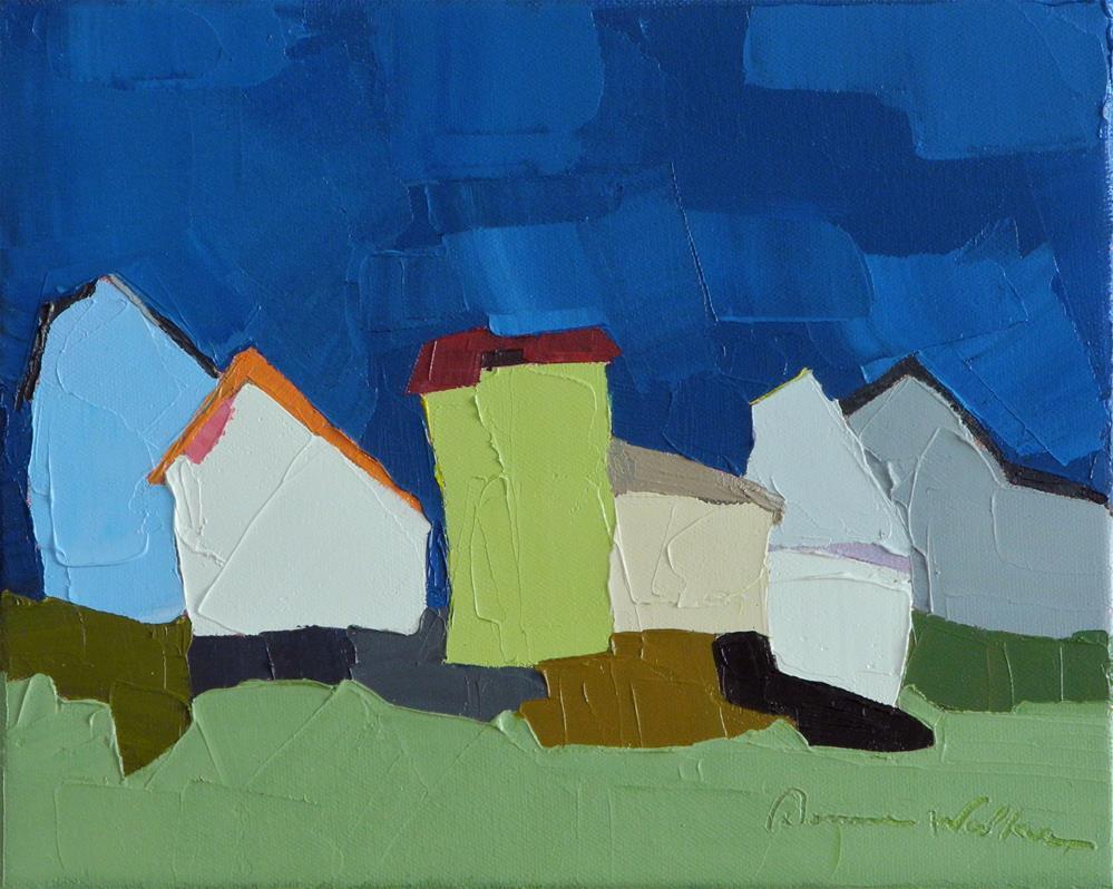 """Under the Harvest Moon"" original fine art by Donna Walker"