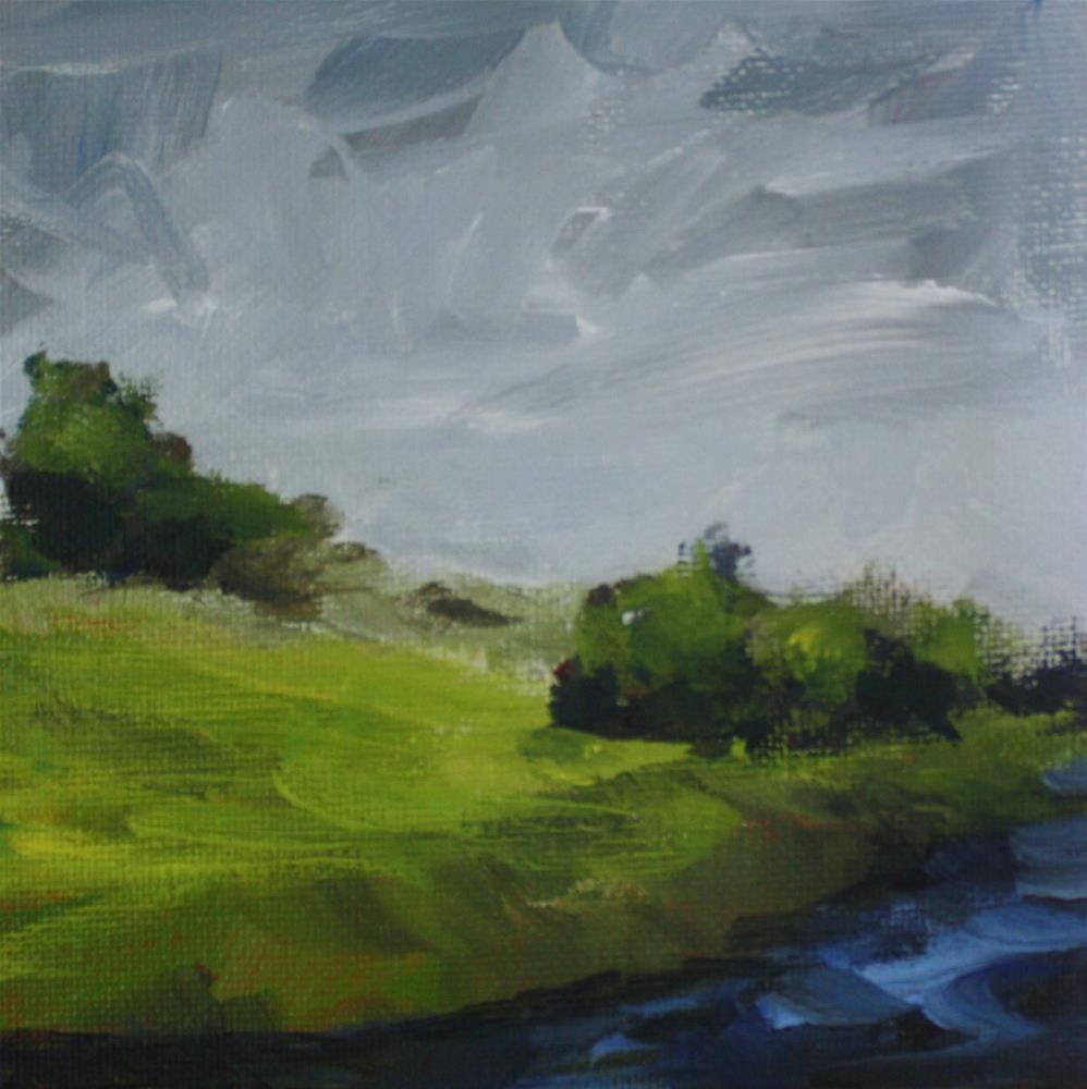 """Summer Storm"" original fine art by Shannon Bauer"