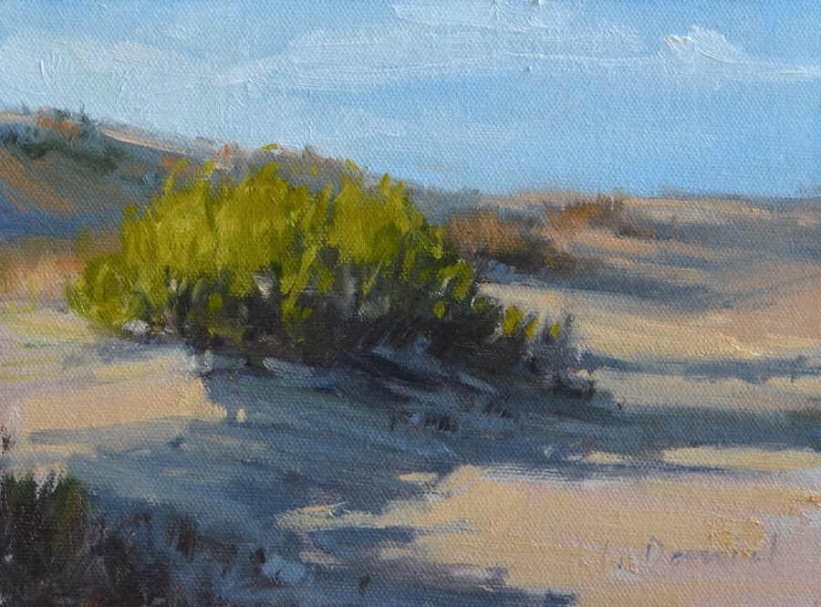 """Beach Study"" original fine art by Laurel Daniel"