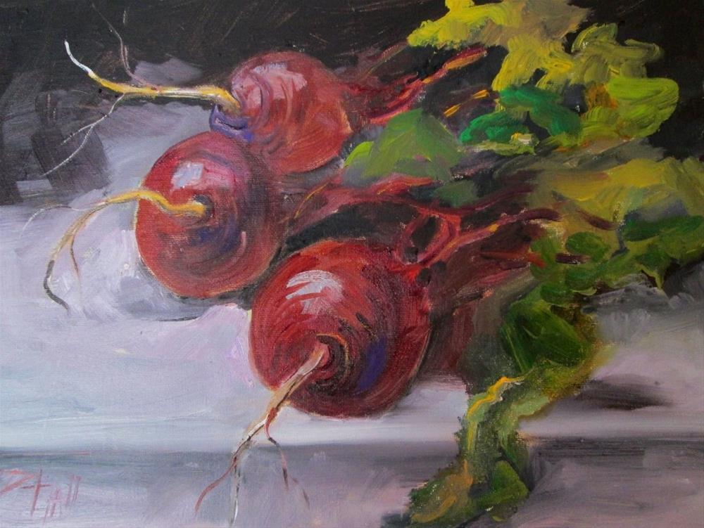 """""""Beets No.7"""" original fine art by Delilah Smith"""
