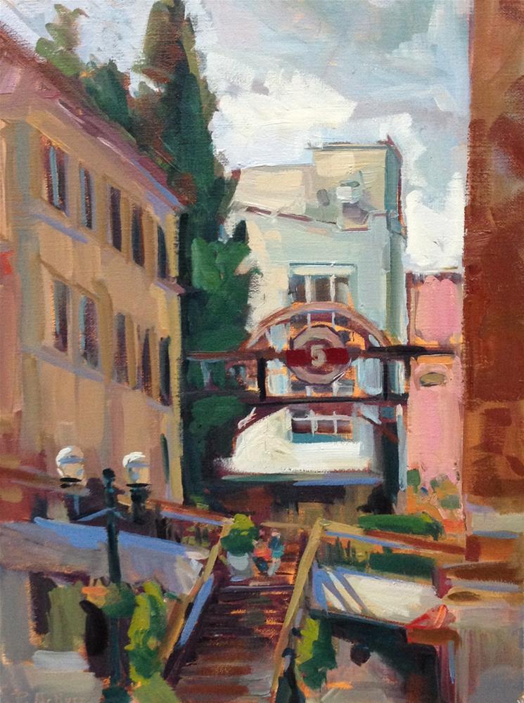 """Fifth Street Sweet"" original fine art by Patti McNutt"