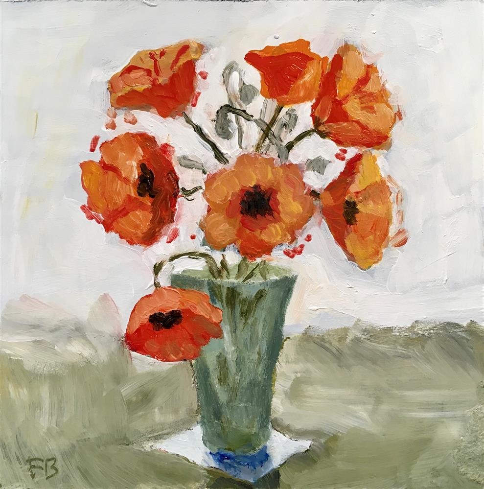 """265 Peace Flower"" original fine art by Fred Bell"