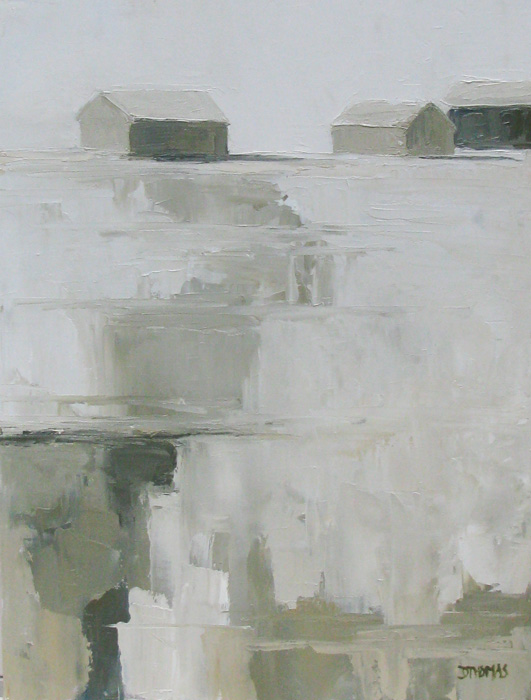 """Winter Shadows"" original fine art by Donna Thomas"