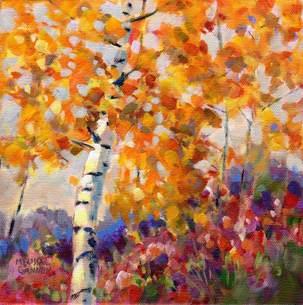 """Rhythms of the Season"" original fine art by Melissa Gannon"