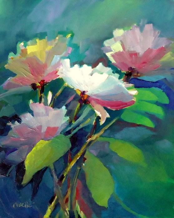 """Shining Through"" original fine art by Laurie Mueller"