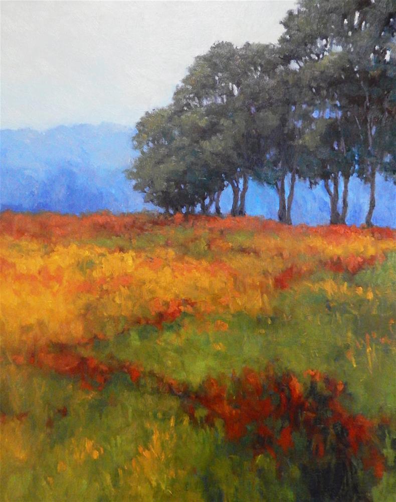 """Meadow Dance"" original fine art by Lisa Kyle"