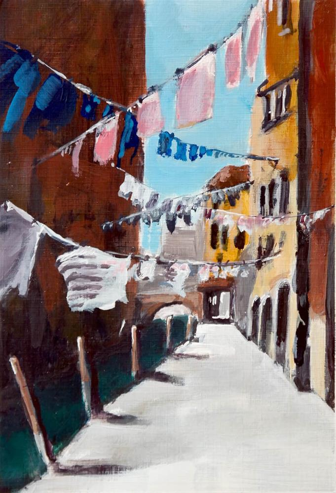 """2116 Washing Street"" original fine art by Dietmar Stiller"