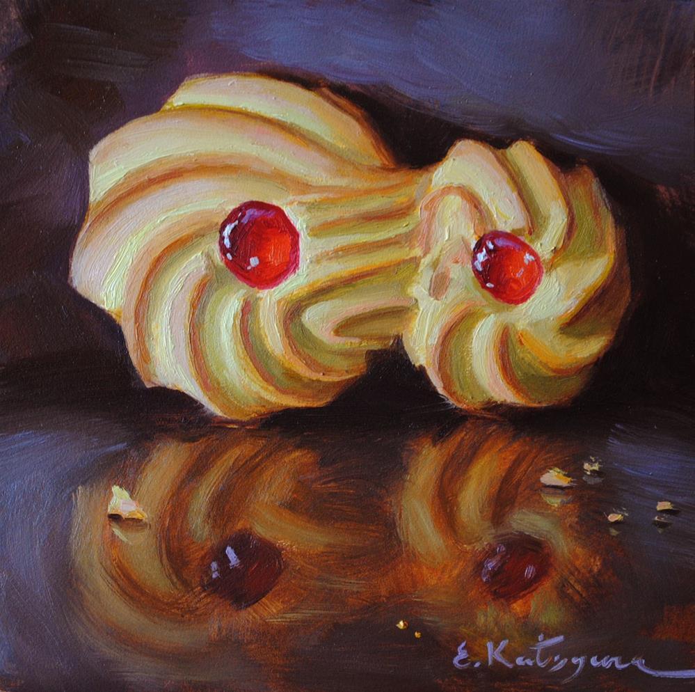 """Sweet Reflection"" original fine art by Elena Katsyura"