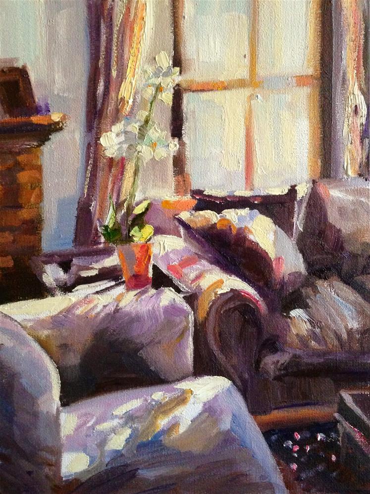 """TANIA SE SITKAMER"" original fine art by Cecilia Rosslee"