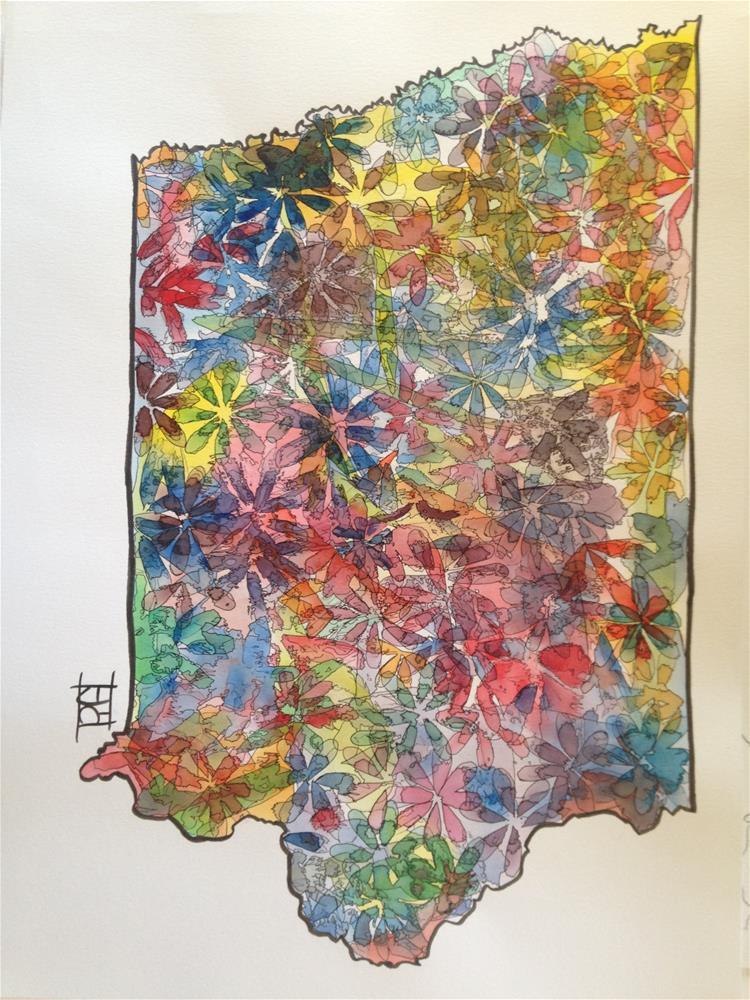 """Iowa"" original fine art by Arron McGuire"
