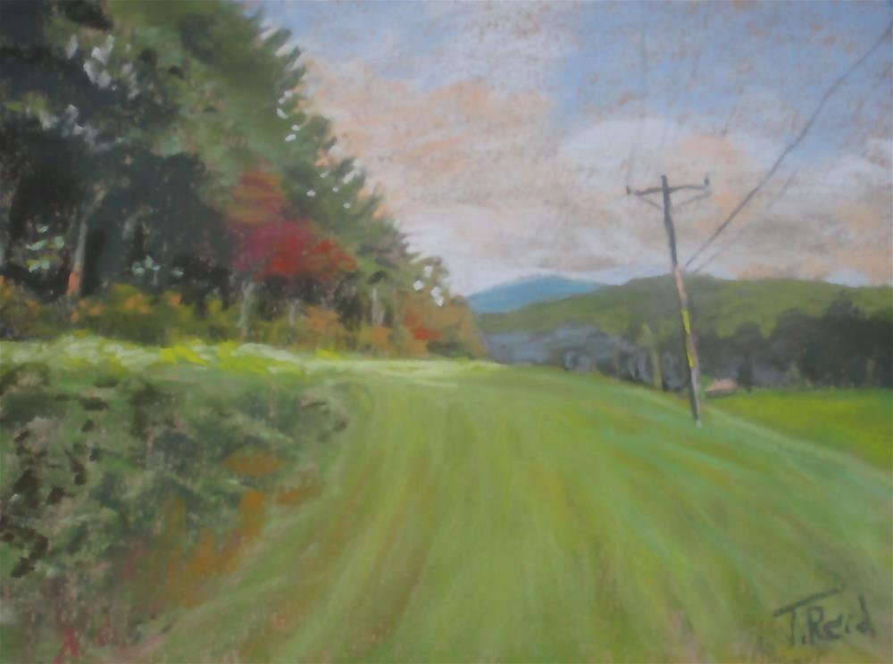 """Late Summer Day"" original fine art by Toby Reid"