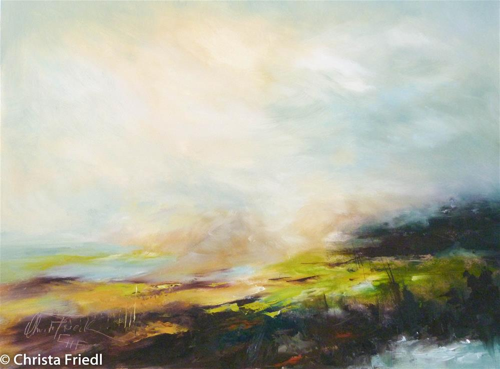 """""""Spring is in the air"""" original fine art by Christa Friedl"""