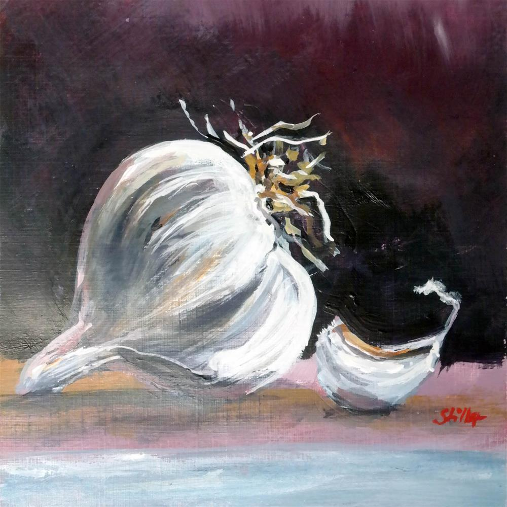 """3047 Christmas Garlic"" original fine art by Dietmar Stiller"