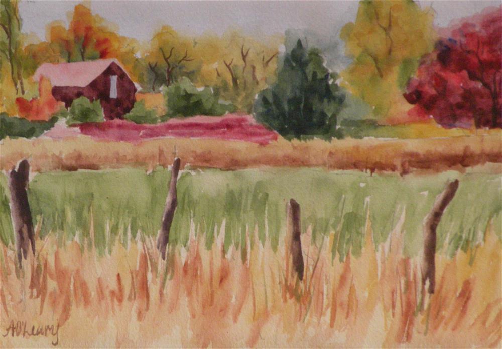 """Colorado Autumn"" original fine art by Alice O'Leary"
