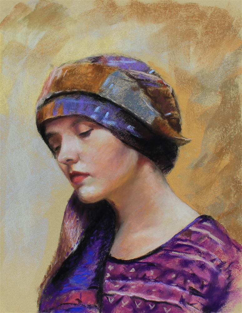 """""""Portrait"""" original fine art by Marco Vazquez"""