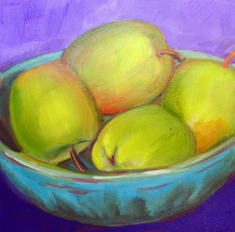 """Delightfully Delicious"" original fine art by Cietha Wilson"
