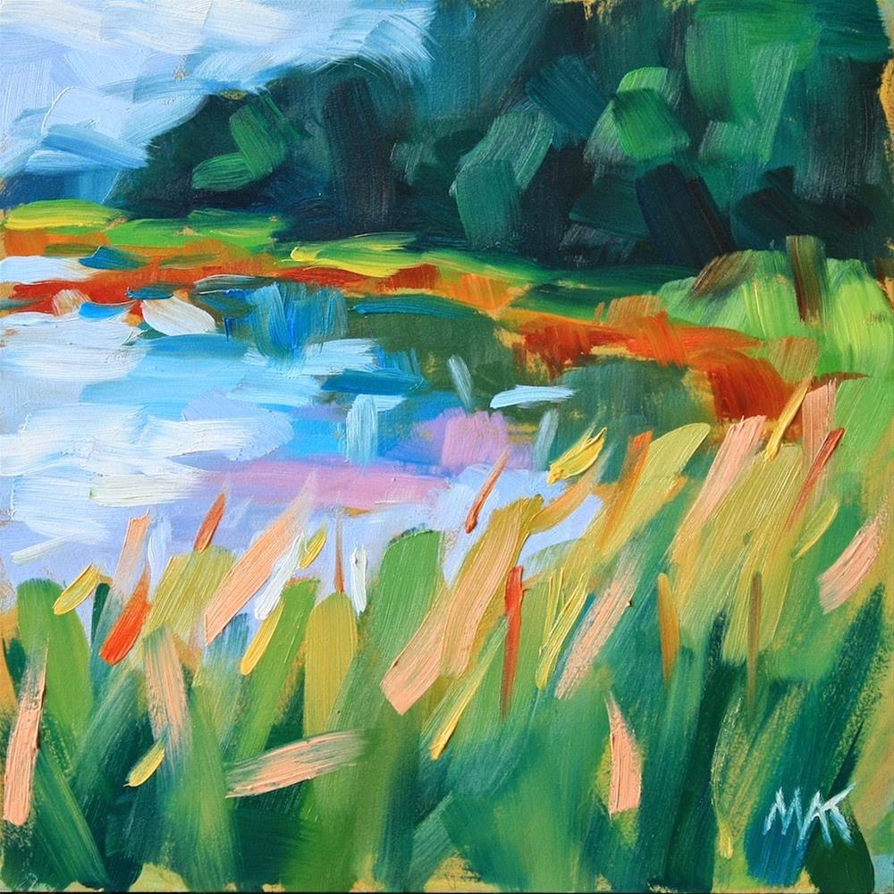 """Sawyer Marsh"" original fine art by Mary Anne Cary"