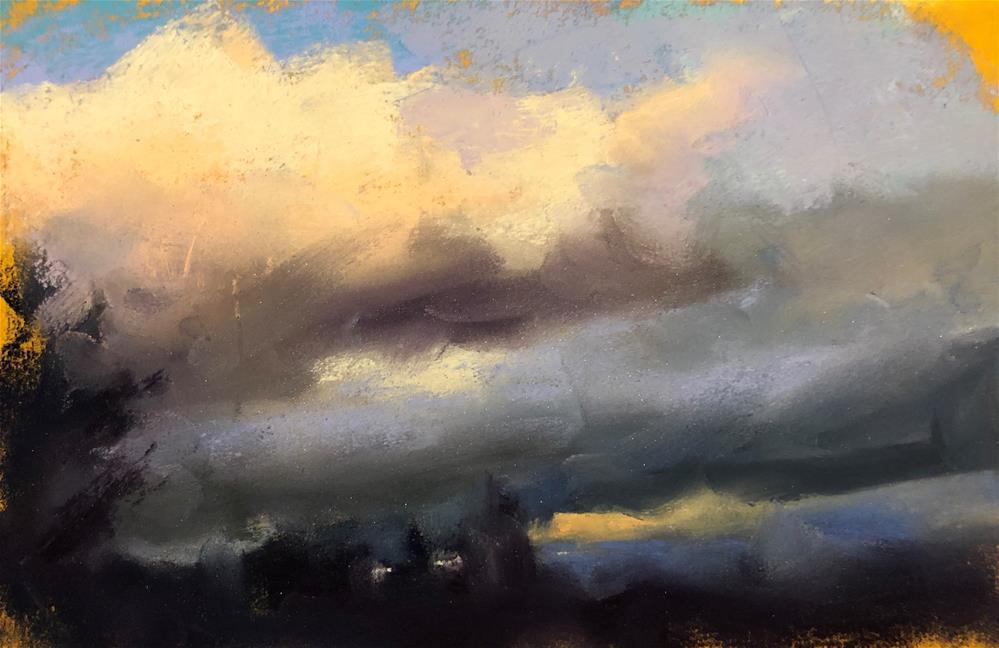 """Impression of Evening"" original fine art by Marla Baggetta"