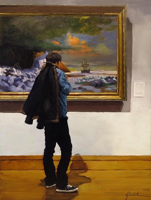 """Seafarer"" original fine art by Karin Jurick"