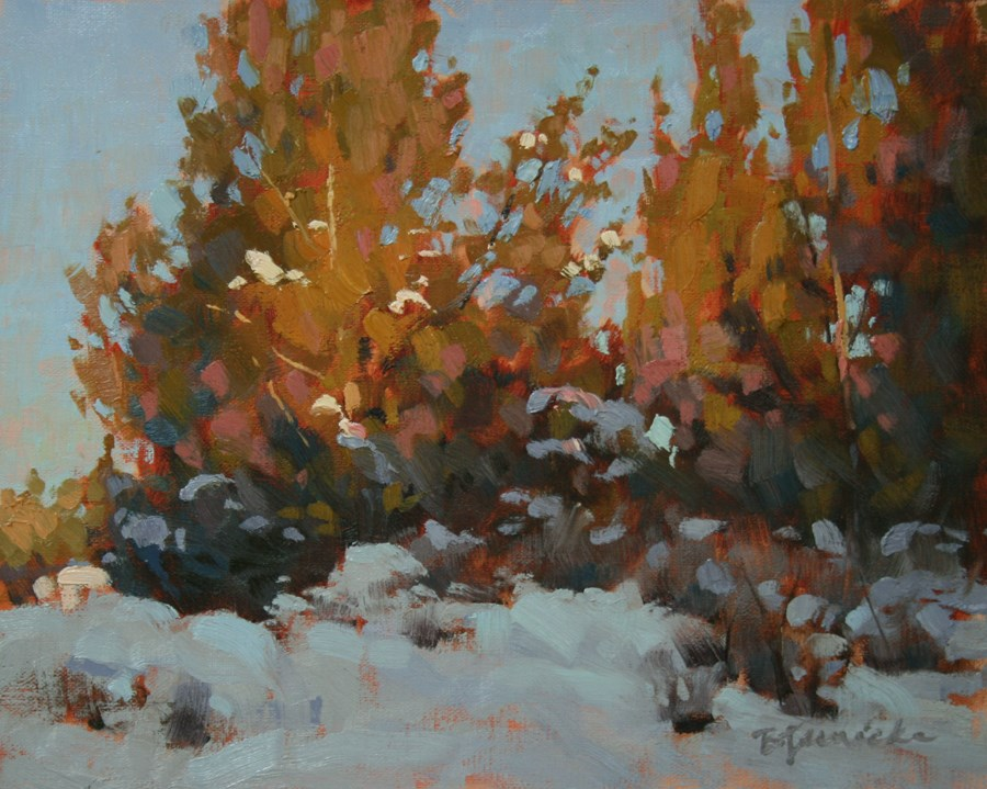 """A Healthy Glow"" original fine art by Barbara Jaenicke"