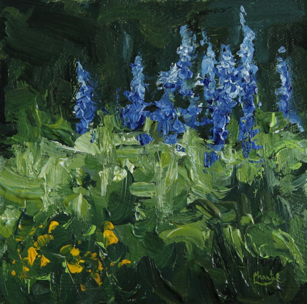 """Where Flowers Bloom"" original fine art by Chantel Barber"