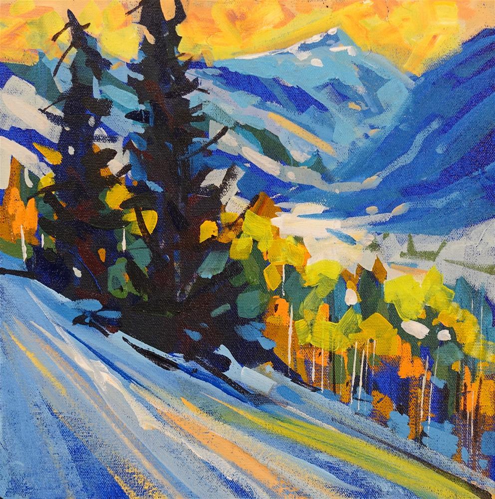 """Strathcona Burst"" original fine art by Brian Buckrell"