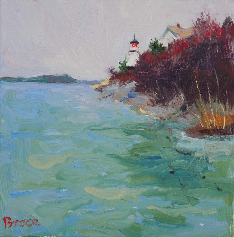 """""""Perkins Island Maine"""" original fine art by Rita Brace"""