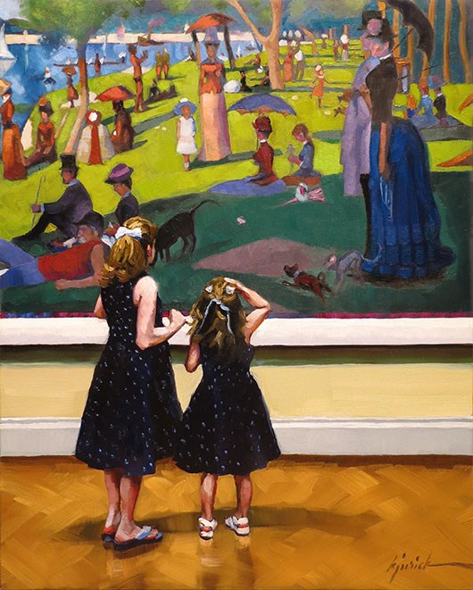 """Their Sunday Best"" original fine art by Karin Jurick"