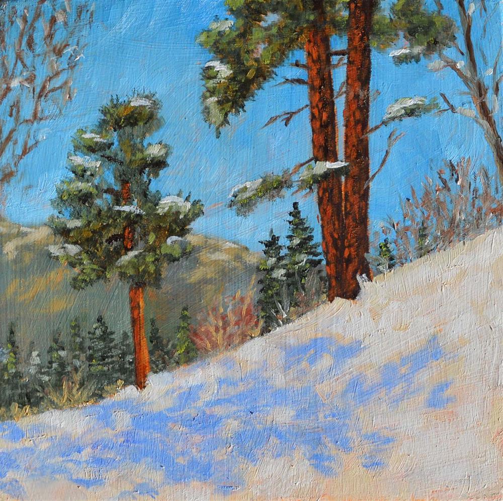 """Pino Trail"" original fine art by Robert Frankis"