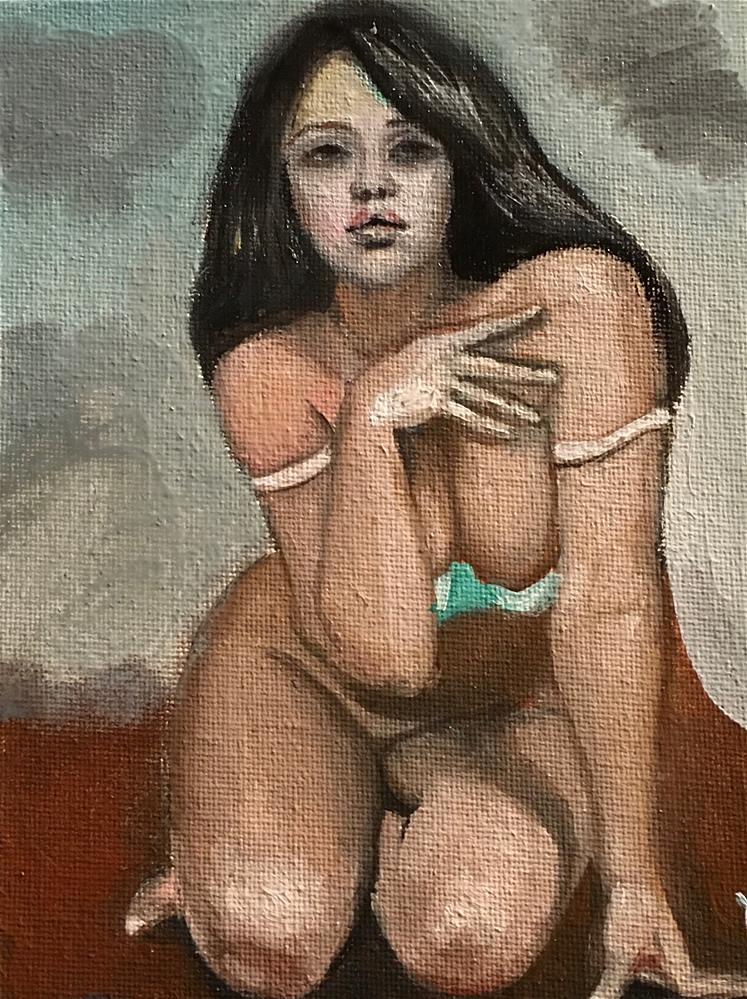 """""""nude"""" original fine art by tian yin"""